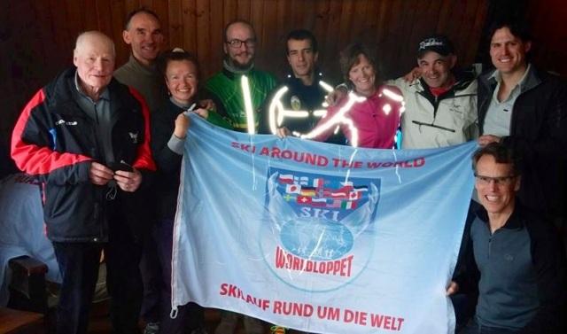 Worldloppet skiers